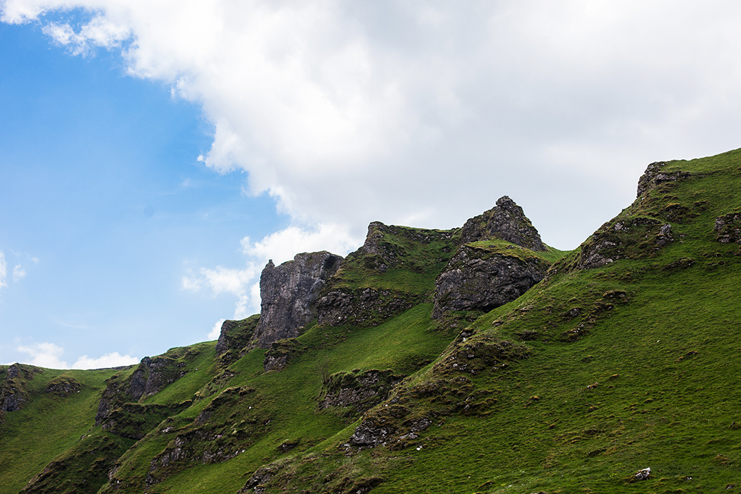 Winnats Pass, Castleton