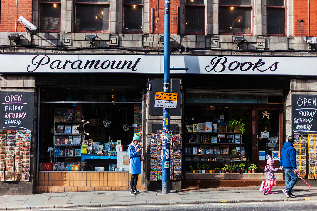 Paramount Books, Manchester