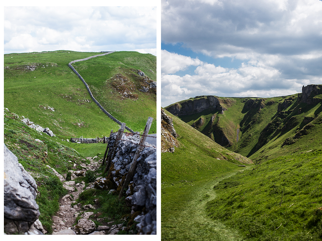 Winnats Pass, Peak District