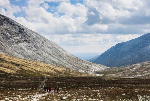 Rondane, Langglupdalen
